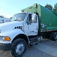 STERLING ACTERRA GARBAGE TRUCK, NEWWAY BODIE, 24FT, MERCEDES POWER, AUTOMATIC,