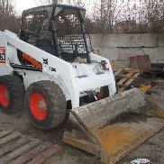 BOBCAT 863G 2000 WITH BUCKET AND FREE SHIPPING BACKHOE BRACKETS READY TO WORK