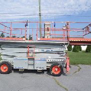2007 SKYJACK SJ9250RT ALL TERRAIN ROUGH TERRAIN 50FT SCISSOR LIFT 50' MAN LIFT