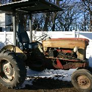 1957 FORD 960 ANTIQUE HIGH / ROW CROP TRACTOR barn find ready to use runs great