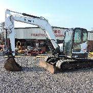 2011 BOBCAT E80 MINI EXCAVATOR - CATERPILLAR - DIESEL ENGINE - GOOD CONDITION!!