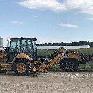 2012 Caterpillar Backhoe/Loader 420E IT w/Extra Bucket & Forks