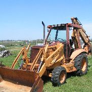 CASE 580 Super K BACKHOE 4X4