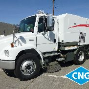 2005 Freightliner FL70 Elgin Broom Bear CNG Powered Street Sweeper