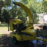 "2011 Vermeer BC600XL 6"" Wood Chipper Brush Shredder Kohler Trailer Mounted"
