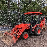 2008 Kubota B26 4x4 Backhoe/Loader Diesel HST Tractor Work Ready!