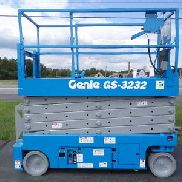 2011 GENIE GS3232 32 'ELEKTRISCHER SLAB SCHEREN LIFT MANLIFT 32FT PLATTFORM LIFT