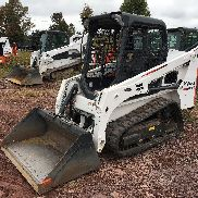 2015 BOBCAT T450 RUBBER TRACK Radladers LOW HOURS