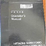 Hitachi Sumitomo SCX2800-2 Operators Manual