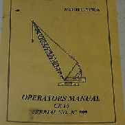 Kobelco Operators Manual CR16 Model: 5170A