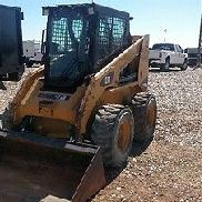 2011 Caterpillar 236 B3 Cab A/C Skid Steer Joystick 1670 Hrs