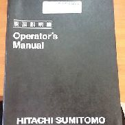 Hitachi Sumitomo Crane SCX2800-2 Operators Manual/Catalog