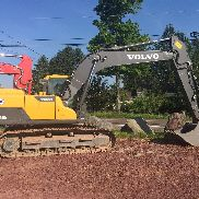 2014 Volvo 160 NO DEF, Long Arm, Aux Hydraulik, Hyd Koppler 1250 Stunden