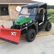 2016 John Deere RSX860i Gator W/ BOSS PLOW!! Enclosed W/ Heater & MTX Stereo