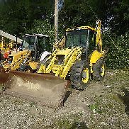 New Holland LB115 Backhoe Loader 4x4 4WD CRAB STEERING RUNS EXC NICE! LB-115