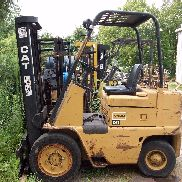Cat V40B Used Hydrostatic Forklift - Needs Head Gasket - Located in NE Ohio