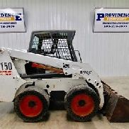 2005 BOBCAT S150 WHEEL SKID STEER LOADER, 46 HP, OPERATING WEIGHT 5935 LBS!