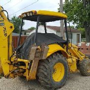2004 NEW HOLLAND LB75B EXT. HOE 4X4 3500 HRS