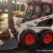 Bobcat 753 C Skid Steer Loader 43HP Kubota Diesel 3651Hrs Fully Serviced NICE
