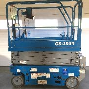 2015 Genie GS-1930 Electric Scissor Lift 19 '(¡Excelente condición!)