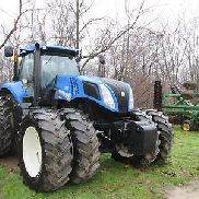 New Holland T8.360 19 Speed ​​Power Shift-Traktor. 311 Motor HP, 2339hrs. NETT!!!