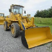 Samsung SL 120-2 4x4 Articulating Wheel Loader