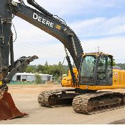 2012 DEERE 200D LC EXCAVATOR 4400HRS CAB HEAT/AC HYD THUMB QC AUX HYD