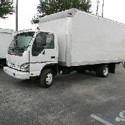 2007 ISUZU NPR H.D. ~ 16FT BOX TRUCK ~ LIFT GATE ~ LOW MILES ~ DIESEL ~ AUTO