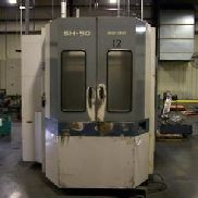 1996 Mori Seiki SH-50 CNC Horizontal Machining Center Fanuc 16m Dual Pallets
