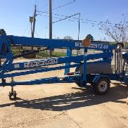 2011 Genie TZ-50 Towable Man Lift DC Electric Motor 56' Work Height
