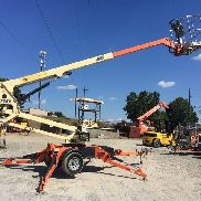 2011 JLG T350 Tow-Behind Man Lift 41' Work Height