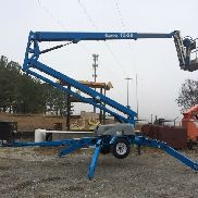 2011 Genie TZ-50 Towable Man Lift 56' Work Height DC Electric Motor