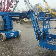2008 Genie Z-34/22N Articulating Boom Lift 40' Work Height