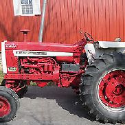 1966 INTERNATIONAL HARVESTER 1206 DIESEL FARM TRACTOR W/ DUALS & DUAL REMOTES