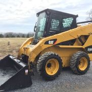 2011 CATERPILLAR 253B3 SKID STEER LOADER ENCLOSED CAB 2 SPEED CHEAP SHIPPING