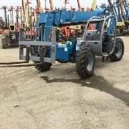 2012 Genie GTH-844 Telescopic Forklift 8000lbs Lift Cap 44' Lift Height