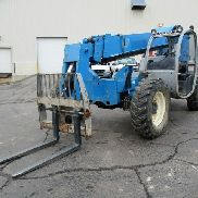 2007 Genie GTH-644 6000lbs Lift Cap Telescopic Forklift Heated Cab New Seat
