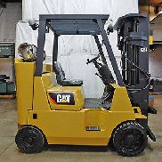2002 CAT CATERPILLAR GC40K-STR 8000LB KISSEN FORKLIFT LPG LIFT TRUCK HALLO LO