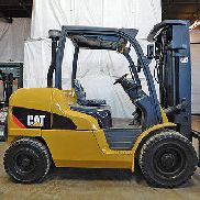2012 CAT CATERPILLAR PD10000 10000LB PNEUMATIC FORKLIFT DIESEL STAPLER HALLO LO