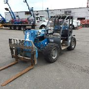 2006 Genie GTH-5519 Telescopic Forklift 5500lb Lift Capacity 19' Lift Height