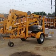 NEW 2017 Haulotte 3522A Tow Behind Boom Lift 41' Work Height