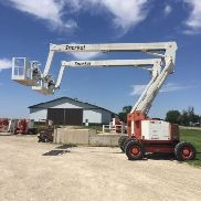 2007 SNORKEL AB60J 60' 4X4 ARTICULATING BOOM MAN LIFT CHERRY PICKER W/ JIB