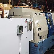 Kia Super Turn 15 LMS CNC Lathe with Live Tooling, Sub Spindle, Parts, Barfeeder