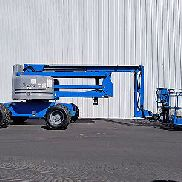 2007 GENIE Z60 34 500LB 4X4 PNEUMATIC BOOM LIFT DIESEL ARTICULATING MAN LIFT