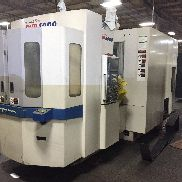 Used DoosanD HP 4000 400mm CNC Horizontal Machining Center Daewoo Fanuc 2005