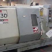 "Haas SL-30T CNC Turning Center Lathe Tailstock Rigid Tap 30hp 10"" Chuck 2004"