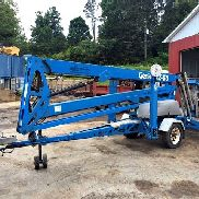 2010 Genie TZ-50 With JIB and DC Electric Motor (Batteries)