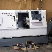2007 Used Chevalier FCL-820 CNC Lathe Turning Center Fanuc 0i-TC Tailstock Chuck