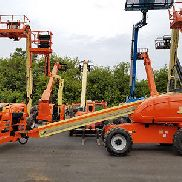 2006 JLG 600S PNEUMATIC BOOM LIFT DIESEL TELESCOPIC MAN LIFT 4X4