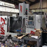 Used Haas VF-3 CNC Vertical Machining Center Mill 4th Ready P-Cool Rigid Tap 97
